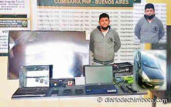 """CAE """"ROBACASAS"""" DE PUEBLOS DEL SUR - Diario de Chimbote"""