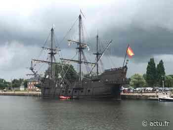 """Honfleur : le bateau pirate """"Galeon Andalucia"""" est arrivé sur les quais de la jetée Est - Le Pays d'Auge"""