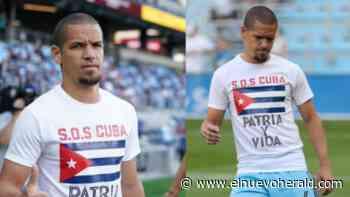 """""""Patria y Vida'' y """"SOS Cuba"""": el apoyo constante del futbolista Osvaldo Alonso a su pueblo - El Nuevo Herald"""