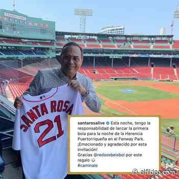 Caminalo: Gilberto Santa Rosa lanzará la 1ra. bola para los Red Sox - El Fildeo