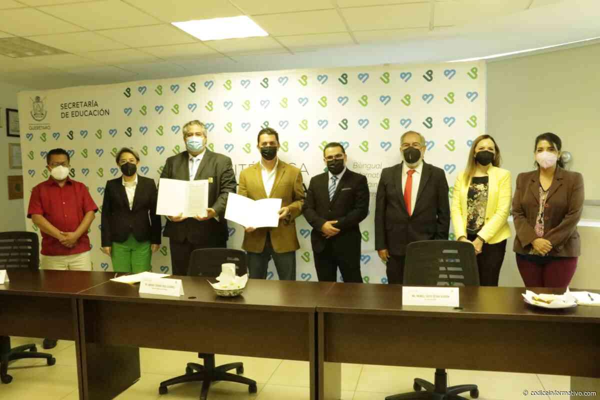 La Politécnica de Santa Rosa y el CIMEQ firman convenio de colaboración - Códice Informativo