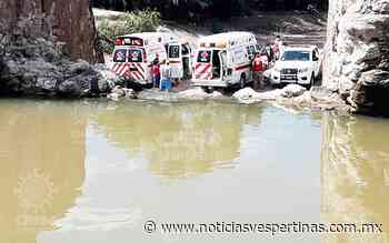 Papá e hijos casi mueren ahogados en Presita de Santa Rosa - Noticias Vespertinas