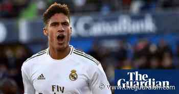 Manchester United confirm £42.7m deal with Real Madrid for Raphaël Varane