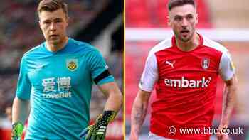 Bailey Peacock-Farrell and Lewis Wing: Sheffield Wednesday sign pair on loan