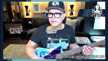 Watch Blink-182's Mark Hoppus Play Bass for the First Time Since Cancer Diagnosis