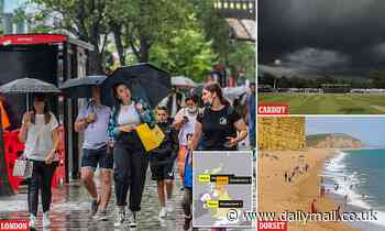 Met Office ramps up storm warning to AMBER with three-day deluge starting TONIGHT