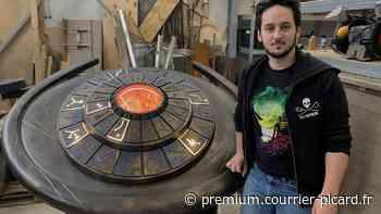 Villers-Bretonneux : Julien Guyard, créateur d'objets de science-fiction, s'envole vers le tournage d'une superproduction - Courrier Picard