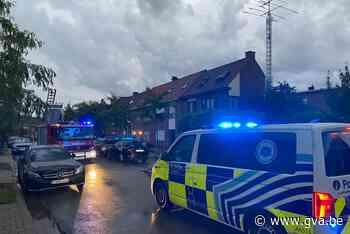 Bliksem ingeslagen in rijwoning in Ekeren (Antwerpen) - Gazet van Antwerpen - Gazet van Antwerpen