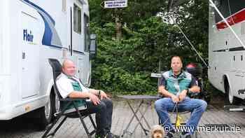 Nach dem verheerenden Hagel: Im Wohnmobil ins Katastrophengebiet - Zwei Hageljäger in Wolfratshausen - Merkur Online