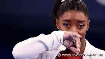 Tearful Simone Biles reveals mental 'demons' behind shock Olympic team final exit