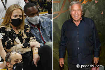 Adele and boyfriend Rich Paul attend Robert Kraft's birthday party - Page Six