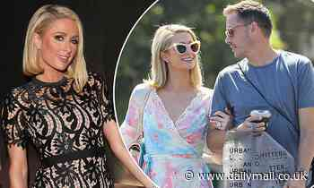 Paris Hilton, 40, DENIES she is pregnant with her first child with fiance Carter Reum