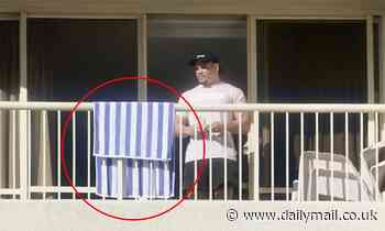 NRL star known James Roberts allegedly breaches Covid player bubble by stepping on his balcony