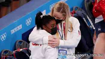 'Sick to my stomach': Ex-teammate's admission as world reacts to Biles' exit