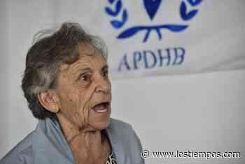Amparo Carvajal afirma que la APDHB no fue consultada por el GIEI sobre los hechos de 2019 - Los Tiempos