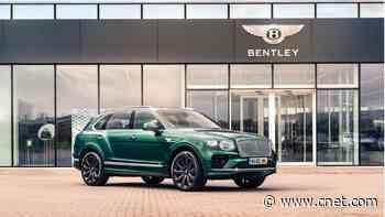 The Bentley Bentayga's new carbon-fiber wheels look cool and perform better     - Roadshow
