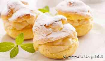 Bignè all'arancia con crema al limone | la perfezione in un morso - RicettaSprint