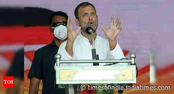 Rahul Gandhi may move adjournment motion