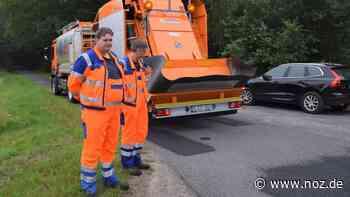 Neues Fahrzeug in Lingen sorgt für intakte Straßen - NOZ