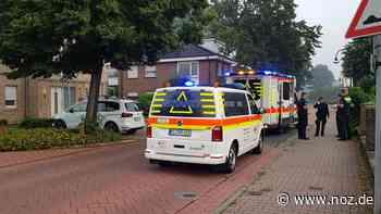 Feuerwehreinsatz am Sonntagmorgen auf der Biener Straße in Lingen - NOZ