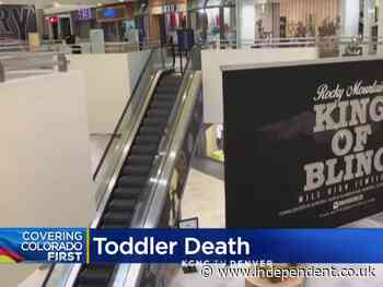Toddler dies falling from father's arms on mall escalator