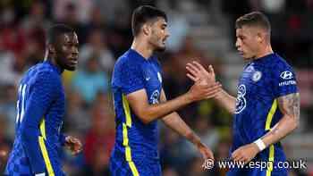 Pulisic starts as Chelsea beat Bournemouth