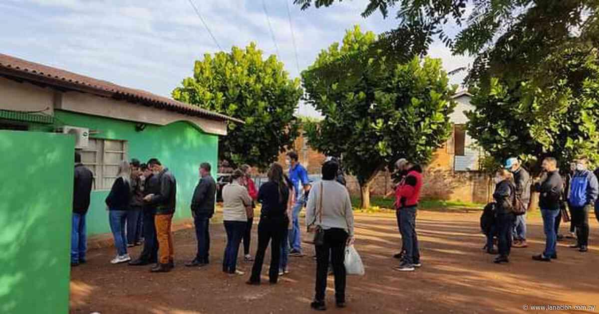 Comuna de Naranjal contrató personal para que la vacunación sea rápida - La Nación