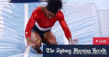 Tokyo Olympics LIVE updates: Simone Biles' shock withdrawal, Titmus headlines swimming, rowing finals get underway