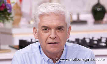Phillip Schofield's dinner is not what you would expect