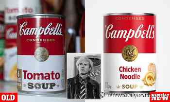 What would Andy Warhol say? Campbell's soup cans get a redesign