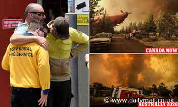 Australia sends elite firefighters to Canada to help battle more than 300 infernos