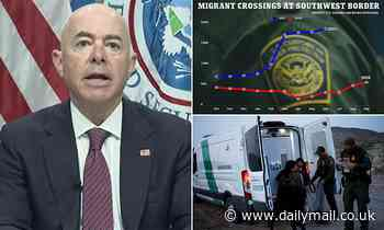 Mayorkas calls 20-year high in border crossings 'misleading' because they are 'repeat offenders'