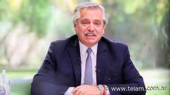 Fernández partió hacia Perú para asistir a la asunción de Pedro Castillo - Télam