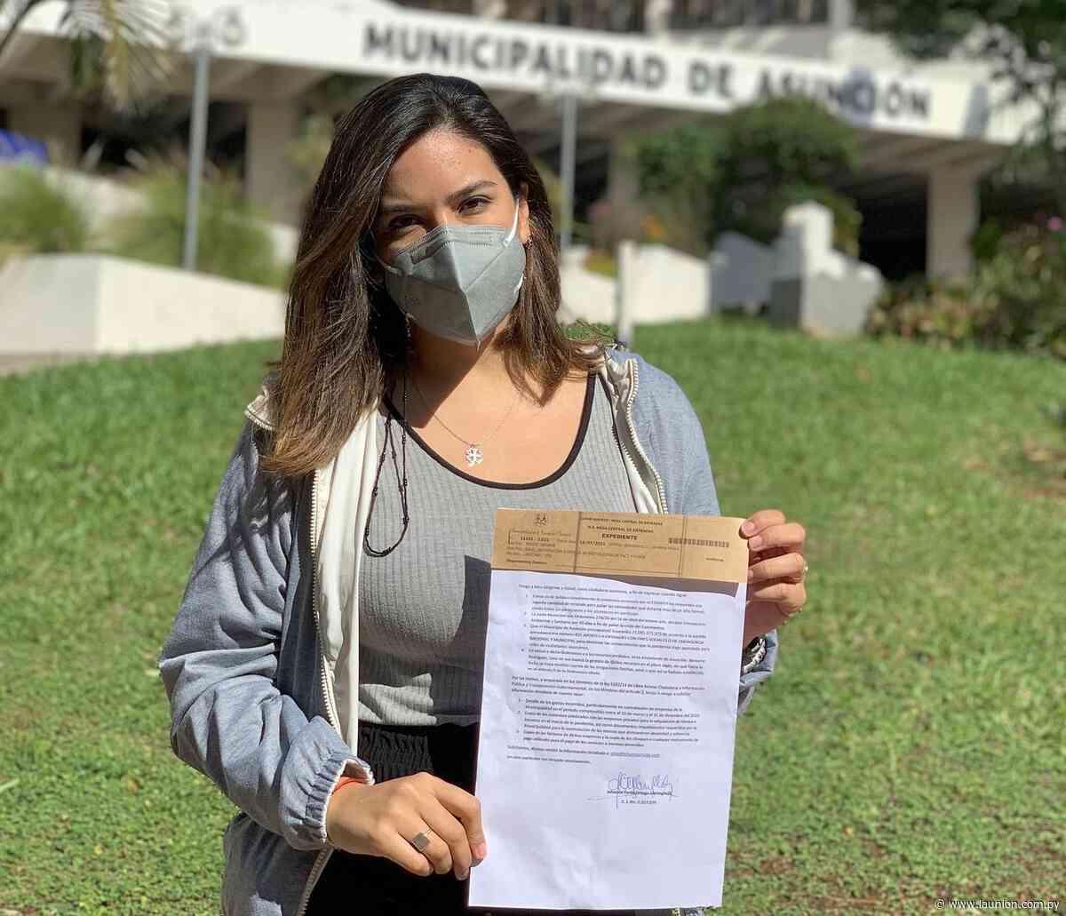 Johanna Ortega mantiene su candidatura opositora independiente a intendencia de Asunción - La Unión - launion.com.py