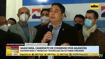 Nakayama, candidato de consenso de la oposición en Asunción - ABC Noticias - ABC Color