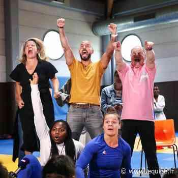 Champigny-sur-Marne a vibré pour Clarisse Agbégnénou, championne olympique à Tokyo - L'Équipe.fr