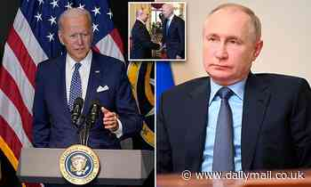 Biden says Putin is in 'real trouble' and that makes him 'more dangerous'