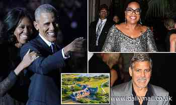 Barack Obama is planning star-studded 60th birthday party at his Martha's Vineyard mansion
