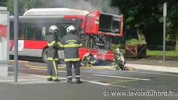 Le moteur d'un bus Ilévia prend feu à Haubourdin, les passagers évacués - La Voix du Nord