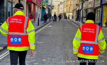Covid marshals to continue operating across Bath and North East Somerset - Bath Echo