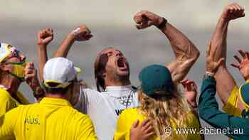 Owen Wright channels surfing legend Duke Kahanamoku to make Olympic history