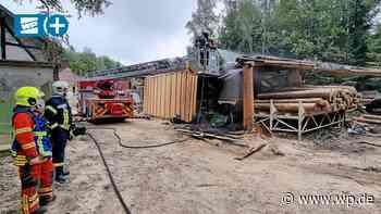 Kreuztal: Lkw-Fahrer entdeckt Feuer im Wald – und löscht - Westfalenpost