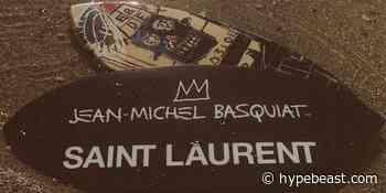 Saint Laurent Rive Droite Honors Basquiat in Capsule - HYPEBEAST