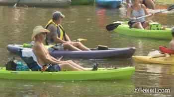 """Kayaking for veterans returns in """"Honor Float"""" event - kwwl.com - kwwl.com"""