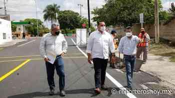 Vecinos del oriente de Mérida estrenarán calles - Reporteros Hoy