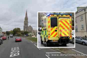 Pedestrian injured in car crash on Dorchester Road at Greenhill, Weymouth - Dorset Echo