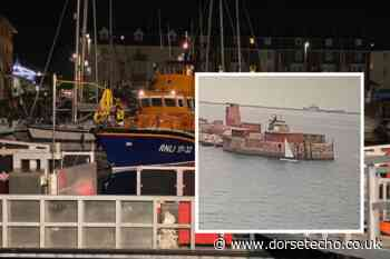 'Lucky' man in dinghy rescued in Weymouth Bay after sea search drama - Dorset Echo