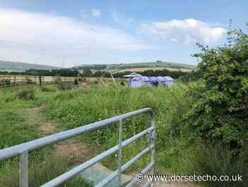 Police 'liaise' with travellers on Littlemoor Road, Weymouth - Dorset Echo