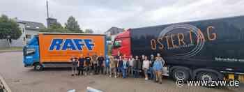 Weinstädter Hilfskonvoi: Zwölf Tonnen Spenden für Flutopfer im Kreis Ahrweiler - Weinstadt - Zeitungsverlag Waiblingen