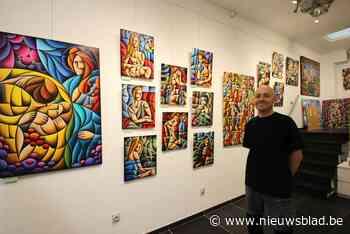 Mortsels kunstenaar opent eigen galerij in gaanderij Vapolé - Het Nieuwsblad